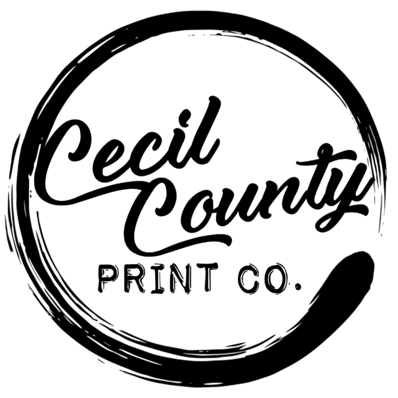 Cecil County Print Co - Partnership - Grunge Muffin Designs